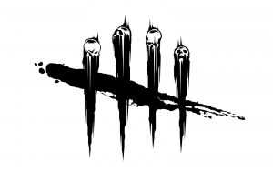 skull, Logo, Monochrome, Minimalism, Dead by Daylight