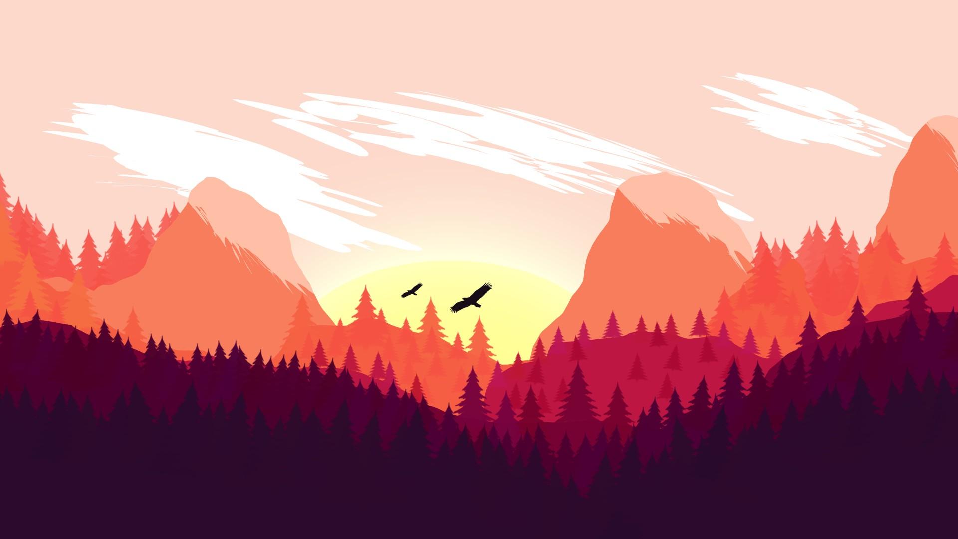 Recovery Mountain Minimalist 4k Hd Desktop Wallpaper For: Freedom Glider, Minimalism, Mountain Pass, Landscape