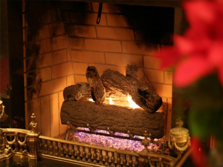 Christmas, Fireplace, Fire, Holiday, Festive, Decorations