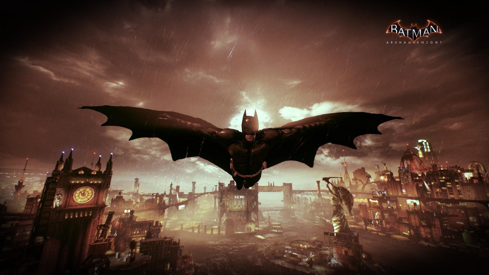 Batman Arkham Knight Gamer Warner Brothers Batman The Dark