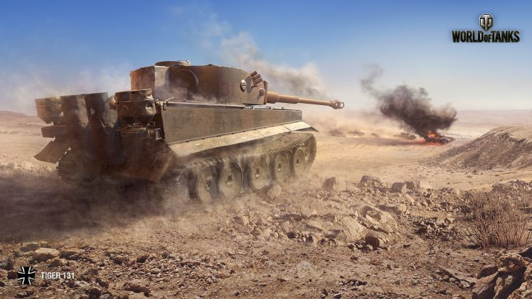 Tiger 131, World of Tanks, Tank Wallpapers HD / Desktop and