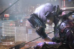 cyberpunk, Artwork, Cybernetics