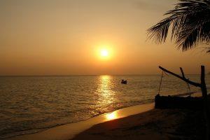Thailand, Sunset, Beach, Landscape