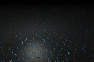 abstract, Hexagon, 3D