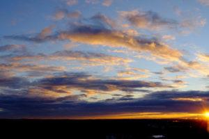 dusk, Clouds