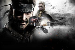 Metal Gear Solid, Kojima Productions, Metal Gear, Hideo Kojima, Video games, PlayStation, Metal Gear Solid: Peace Walker, Big Boss, PSP