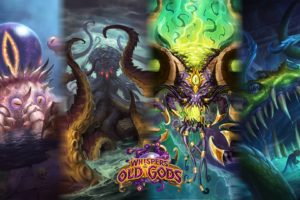 Warcraft, Whispers of the old gods, Hearthstone: Heroes of Warcraft, Hearthstone, CThun, Yogg Saron