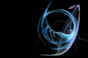 abstract, Apophysis, Digital art, Black background