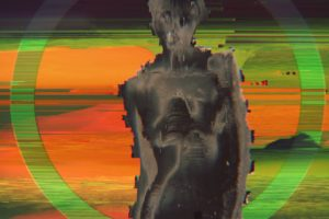 women, Glitch art, Abstract