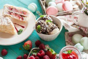 sweets, Food, Cake, Berries