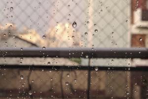 rain, Water drops, Rainbows