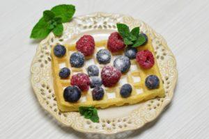 fruit, Food, Berries, Raspberries, Blueberries