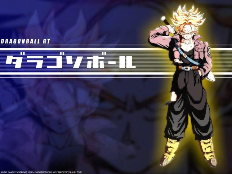 Trunks Character Dragon Ball Gt Wallpapers Hd Desktop