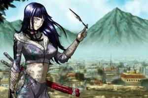 anime, Naruto Shippuuden, Hyuuga Hinata, Konoha