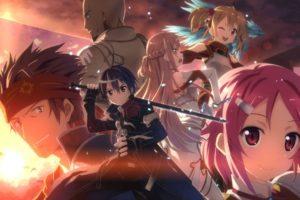 Sword Art Online, Kirigaya Kazuto, Yuuki Asuna, Shinozaki Rika, Ayano Keiko, Tsuboi Ryotaro, Anime