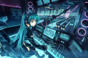 anime, Anime girls, Vocaloid, Hatsune Miku