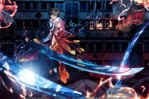 Guilty Crown, Anime, Yuzuriha Inori, Ouma Shu