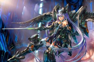anime girls, Anime, Fantasy art, Mecha girls
