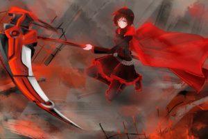anime, RWBY, Ruby Rose