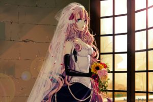 anime, Vocaloid, Megurine Luka