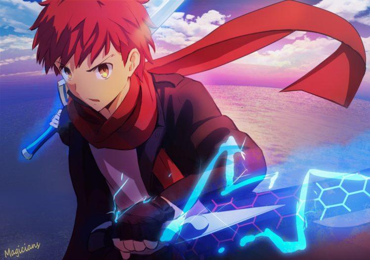 anime, Shirou Emiya, Fate Stay Night HD Wallpaper Desktop Background