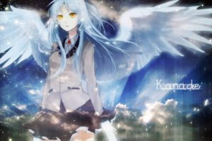 artwork, Anime girls, Anime, Angel Beats!