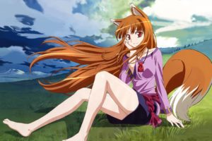 Spice and Wolf, Holo, Anime, Anime girls, Wolf girls