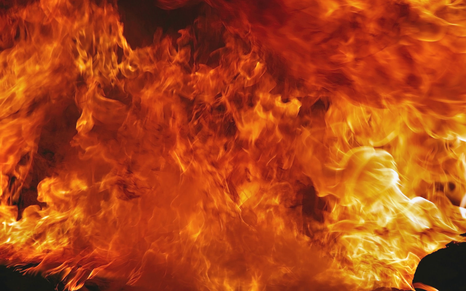 fire, Flames, Abstract Wallpaper