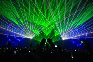 laser, Show, Concert, Lights, Color, Abstraction, Psychedelic