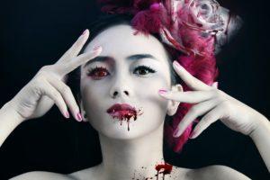 fantasy, Artwork, Art, Dark, Vampire, Gothic, Girl, Girls, Blood