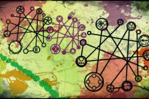 multicolor, Circles, Digital, Art, Backgrounds