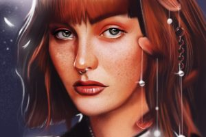 yasar vurdem kacyhily, Fantasy, Art, Portraits, Original, Beautiful