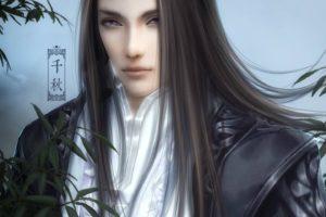 , Original, Characters, Fantasy, Man, Beauty, Long, Hair