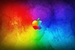 apple, Background, Colorful, Colors, Logo, Wallpapers, Abstract