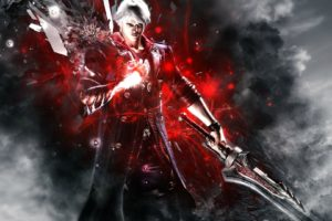 devil, May, Cry, Dmc, Fantasy, Action, Adventure, Fighting, Warrior, Martial, Arts