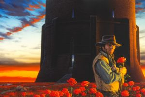 fantasy, Art, Artwork, Warrior, Dark, Tower, Stephen, King, Western