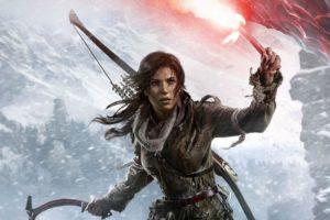 rise, Tomb, Raider, Lara, Croft, Action, Adventure, Fantasy, Warrior