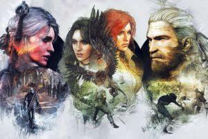 witcher, 3, Wild, Hunt, Fantasy, Action, Fighting, Warrior, Dark