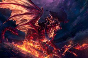dragon, Fantasy, Artwork, Art, Dragons