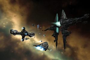 eve, Online, Gallente, Hyperion, Spaceships, Vehicles, Myrmidon