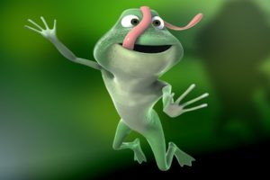 cartoons, Funny, Animated, Frogs