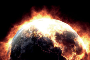 earth, Apocalypse, Fired, Black, Background