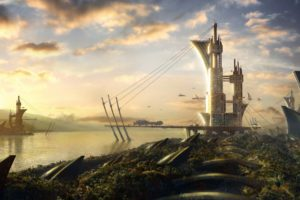 landscapes, Fantasy, Art, Science, Fiction