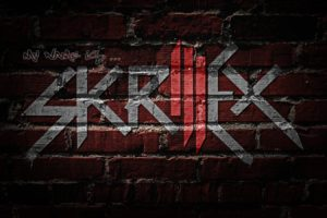 abstract, Logos, Sonny, Moore, Skrillex, Logo, Skrillex, Wall, Painting