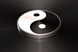 ying, Yang, Zen, Peace, Tranquil