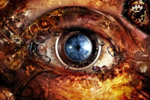blue, Eye
