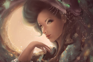 pov, Eyes, Face, Women, Females, Girls, Fantasy, Art, Snakes, Dragons