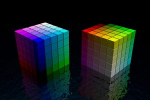 color, Cubes, 3d
