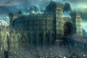 castles, Fantasy, Art, Battles, Artwork, Low, Resolution, Helms, Deep