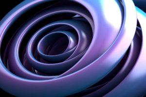espirales, Abstracto, 3d